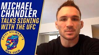 Michael Chandler 'felt like I was home' talking to Dana White about joining UFC | ESPN MMA