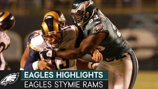 Birds Shut Down the Greatest Show on Turf: Eagles vs. Rams, 2002 Week 13 | Eagles Highlights