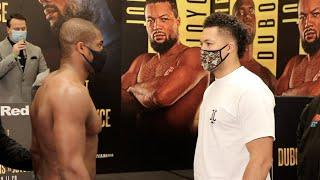 SOMEONE IS GETTING KNOCKED THE F*** OUT! - DANIEL DUBOIS v JOE JOYCE / (UNCUT & COMPLETE) WEIGH-IN