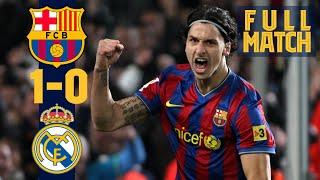 FULL MATCH: BARÇA - REAL MADRID (ZLATAN SEALS VICTORY IN FIERY CLÁSICO!)