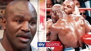 Evander Holyfield relives the moment Mike Tyson bit his ear & discusses fights with Lewis & Bowe