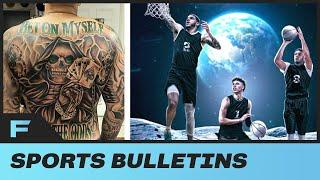 LiAngelo Ball Gets MASSIVE Tattoo On His ENTIRE Back As Ball Bros Officially Sign With Roc Nation!