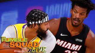 Jimmy Butler Not Worried After Heat's Dream Of Finals Win CRUSHED By Lakers In Game 1 | Fumble Live