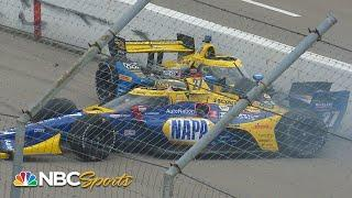 IndyCar: Alexander Rossi, Andretti cars out after early crash at Gateway | Motorsports on NBC