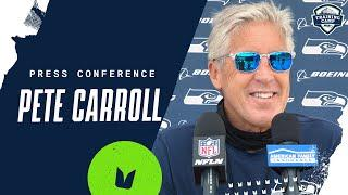Pete Carroll 2020 Training Camp Practice No. 1 Press Conference