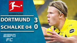 Erling Haaland steals the show for Borussia Dortmund in Revierderby | ESPN FC Bundesliga Highlights