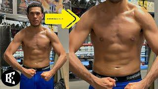 "DAVID BENAVIDEZ 3 WEEKS OUT, BRAGS NEW PHYSIQUE, ""FEELSGREAT"" STAYIN READY CANELO, PLANT 