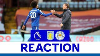 'Terrific First Half For Us' - Brendan Rodgers | Aston Villa 1 Leicester City 2