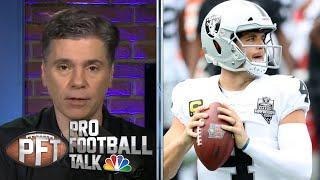 Will Derek Carr, Las Vegas Raiders be punished for going to event?   Pro Football Talk   NBC Sports