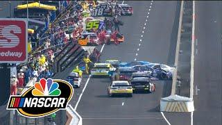 Brickyard 400: Cup Series sees chaos on pit road with pile-up at Indianapolis | Motorsports on NBC