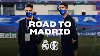 REAL MADRID vs INTER | ROAD TO MADRID | From Milano to Estadio Di Stéfano!