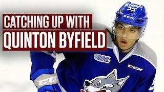 Top NHL Prospect Quinton Byfield Reacts To Draft Lottery Surprise