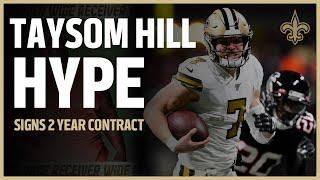 Taysom Hill HYPE - Signs 2 Year Contract w/ Saints