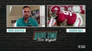 Alabama's Raekwon Davis joins Travis Wingfield after being drafted