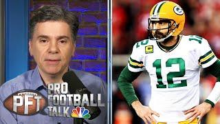Does Packers' Matt LaFleur want Aaron Rodgers out of Green Bay? | Pro Football Talk | NBC Sports