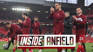 Inside Anfield: Unseen footage from the last day of the season | Liverpool vs Crystal Palace