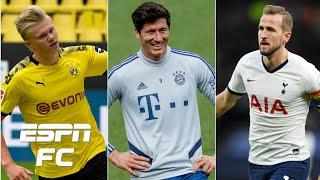 Erling Haaland and Harry Kane LEFT OUT!? Bayern's Lewandowski lists his top 5 strikers | ESPN FC