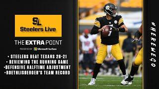 Steelers Live: The Extra Point - Pittsburgh Steelers Week 3 win vs Houston Texans