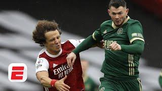 Arsenal vs. Sheffield United reaction: How David Luiz 'incident' helps Gunners to win | ESPN FC