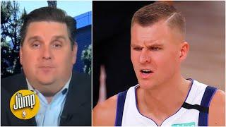 Mavs fans should be concerned about Kristaps Porzingis – Brian Windhorst | The Jump