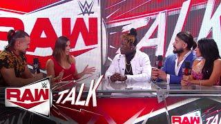 How did Andrade & Angel Garza get on the same page?: Raw Talk, July 27, 2020 (WWE Network Exclusive)