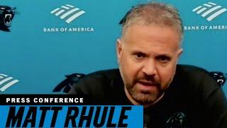Matt Rhule gives injury updates after first practice of Week 2