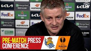 Pre-Match Press Conference | Real Sociedad v Manchester United | UEFA Europa League