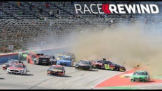 Race Rewind: Texas's twists, turns and wrecks in 15 minutes | NASCAR Cup Series
