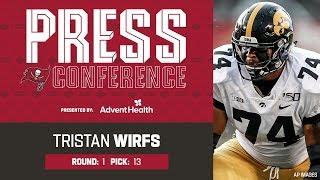 Tristan Wirfs on Blocking for Tom Brady | Press Conference