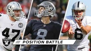 Specialists Look to Pick up Where They Left off Headed Into 2020   Las Vegas Raiders