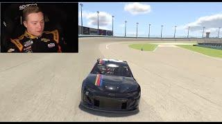 Tyler Reddick breaks down laps around Homestead-Miami Speedway on iRacing | NASCAR Cup Series