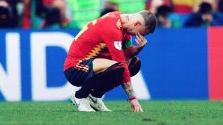 6 times Ramos cried because of football | Oh My Goal