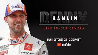 Denny Hamlin live in-car camera presented by Coca-Cola | NASCAR Playoffs at Texas Motor Speedway