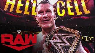 Randy Orton wins 14th World Title at WWE Hell in a Cell: Raw, Oct. 26, 2020