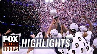 EXCLUSIVE: Go 'above the rim' as Georgetown captures Big East Title | FOX COLLEGE HOOPS HIGHLIGHTS