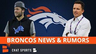 Denver Broncos News & Rumors: George Paton Hired As Broncos GM + Matthew Stafford Trade Rumors
