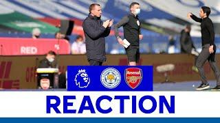'We Weren't Aggressive Enough' - Brendan Rodgers | Leicester City 1 Arsenal 3