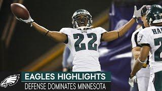 Defense Rules the Day in Minnesota: Eagles vs. Vikings, 2008 Wild Card Round   Eagles Highlights
