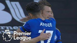 Jamie Vardy pokes Leicester City in front of Bournemouth | Premier League | NBC Sports