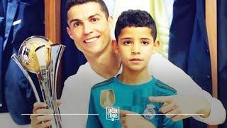 How Cristiano Ronaldo is passing his love of football on to his kids | Oh My Goal