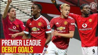 Premier League Debut Goals | Scholes, Rashford, Van De Beek | Manchester United