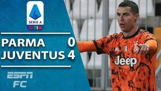 Cristiano Ronaldo up to 33 Serie A goals in 2020 as Juventus rout Parma | ESPN FC Serie A Highlights