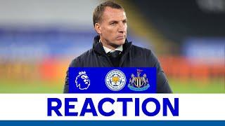 'Concentration & Mistakes Cost Us' - Brendan Rodgers | Leicester City 2 Newcastle United 4 | 2020/21