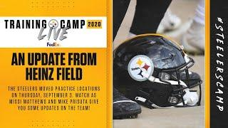 Steelers Training Camp Live: An update from Heinz Field (Sept. 3)