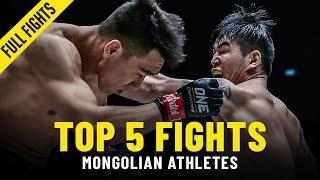 Top 5 Mongolian Athlete Fights In ONE Championship