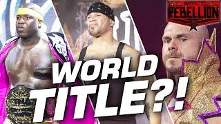 Michael Elgin Crowned New World Champion?! | IMPACT! Rebellion Highlights Apr 28, 2020