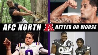 AFC North: Better or Worse?