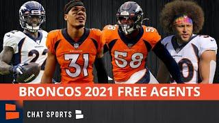 Denver Broncos Free Agents: All 24 Players Who Could Hit NFL Free Agency This Offseason