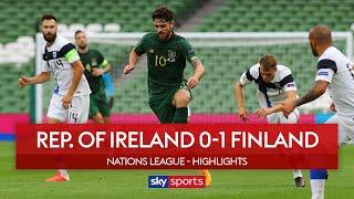 Kenny still winless after Finland defeat | Rep. of Ireland 0-1 Finland | Nations League Highlights
