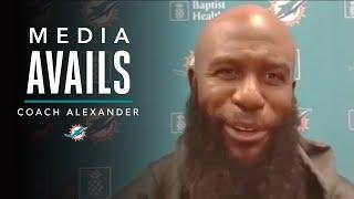 Gerald Alexander: We Prioritize Multiplicity | Miami Dolphins Media Avails